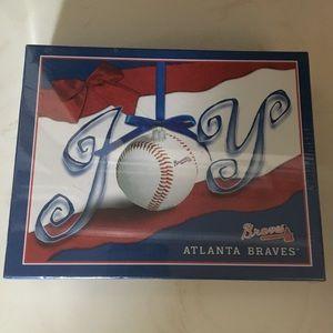 New Box Atlanta Braves Christmas Cards